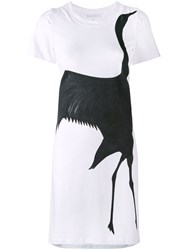 Io Ivana Omazic Black Swan Dress White