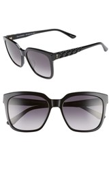 Juicy Couture Core 55Mm Square Sunglasses Grey Spotted