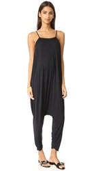Free People Right On Time Jumpsuit Black