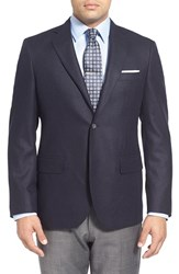 Men's Big And Tall John W. Nordstrom Classic Fit Cashmere Sport Coat Navy