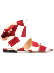 Bionda Castana 'Alice' Sandals Red