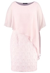 Swing Curve Cocktail Dress Party Dress Ivory Blossom Pink