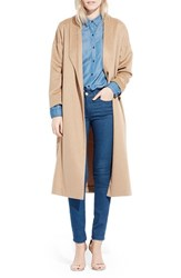 Ayr Women's 'The Robe' Camel Hair Maxi Coat