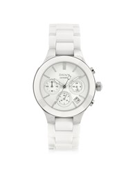 Dkny Watches Ceramic Chronograph Watch