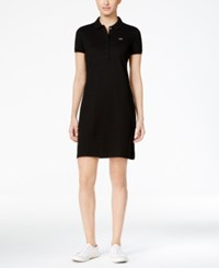 Lacoste Polo Shirtdress Black