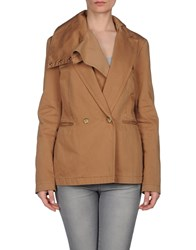 Maison Martin Margiela Mm6 By Maison Margiela Suits And Jackets Blazers Women Camel