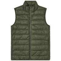 Barbour Bretby Gilet Green