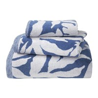 Olivier Desforges Calices Towel Blue