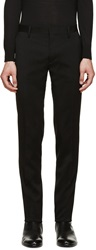 Dsquared Black Wool Tokyo Trousers