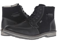 Rieker 39213 Nero Black Black Men's Boots