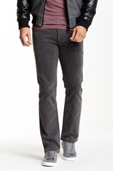 Rvca Regulars Ii Straight Leg Jean Gray