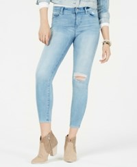 Celebrity Pink Juniors' Distressed Skinny Jeans All Access