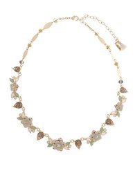 Lonna And Lilly Floral Statement Collar Necklace Gold