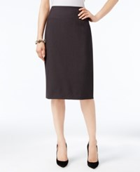 Alfani Classic Pencil Skirt Only At Macy's Charcoal
