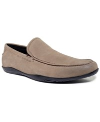 Kenneth Cole Shoes Home Body Slip On With Silver Technology Men's Shoes Stone
