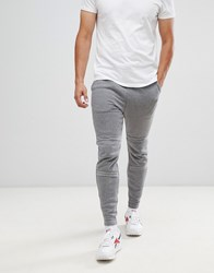 G Star Motac X Logo Tapered Joggers In Grey Black