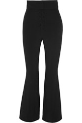 Proenza Schouler Cropped Cady Flared Pants