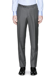 Isaia Wool Pants Grey