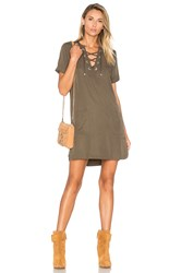 Lovers Friends Waterfront Dress Army
