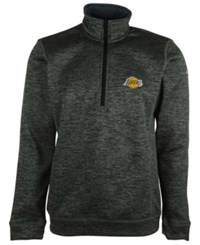 Adidas Men's Los Angeles Lakers Team Issue Quarter Zip Pullover
