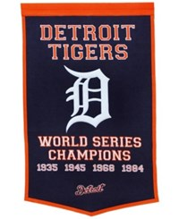 Winning Streak Detroit Tigers Dynasty Banner Team Color