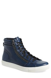 Andrew Marc New York Men's Andrew Marc 'Remsen' Sneaker Nightscape Black Leather