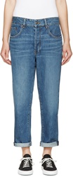 6397 Blue Tea Wash Shorty Jeans