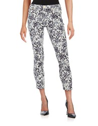 Michael Michael Kors Floral Patterned Jeans New Navy