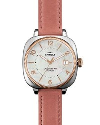 Shinola 36Mm Gomelsky Two Tone Watch Pink