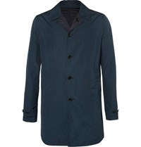 Aspesi Reversible Cotton And Shell Jacket Navy