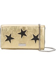 Stella Mccartney Star Shoulder Bag Women Artificial Leather One Size Metallic