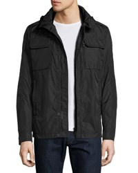 Moncler Jonathan Lightweight Field Jacket Black