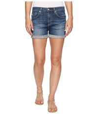 Ag Adriano Goldschmied Hailey Shorts In 10 Years Dispatch 10 Years Dispatch Women's Shorts Blue