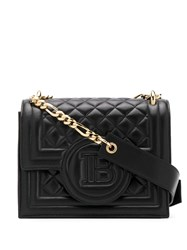 Balmain X Cara Bbag 21 Crossbody Bag Black