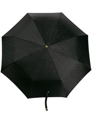 Alexander Mcqueen Crystal Studded Skull Umbrella Black