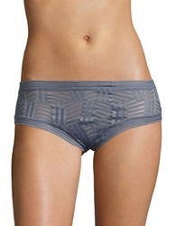 Candc California Pull On Mesh Hipsters Grey