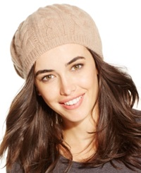 Charter Club Cashmere Cable Beret