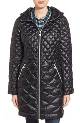 Women's Bernardo Hooded Coat With Packable Down And Primaloft Fill