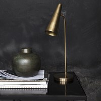 House Doctor Precise Table Lamp Brass