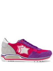 Atlantic Stars Shaka Sneakers Pink