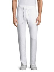Onia Collin Solid Pants White
