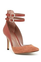 Enzo Angiolini Celton Ankle Strap Pump Brown