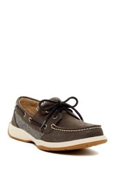 Sperry Intrepid Boat Shoe Gray
