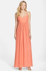 Women's Felicity And Coco Empire Waist Maxi Dress Persimmon