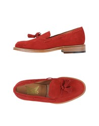 Mark Mcnairy Footwear Moccasins Men Red