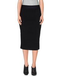 Dkny Skirts Knee Length Skirts Women Black