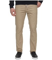 Volcom Vsm Gritter Slim Skate Chino Beige Men's Clothing