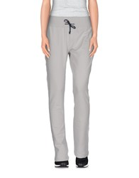 Aeronautica Militare Trousers Casual Trousers Women Light Grey