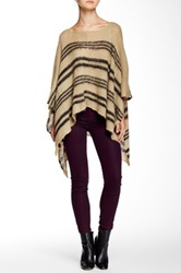 Wooden Ships Hathaway Poncho Multi