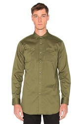 Publish Cason Button Down Olive